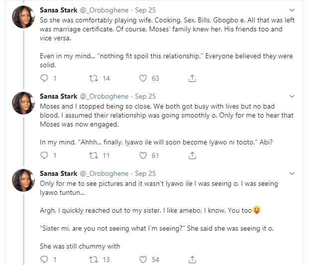Man left girlfriend of 3 years to marry a virgin and 'virtuous woman' he dated for 6 months - Nigerian Lady shares what happened.
