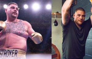 Andy Ruiz Jr's shocking body transformation