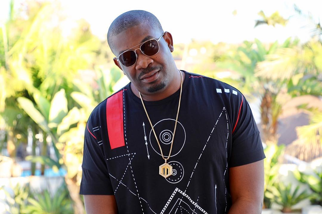 Don Jazzy gifts lady N200k to buy TV and decoder after complaining of being unable to watch BBNaija