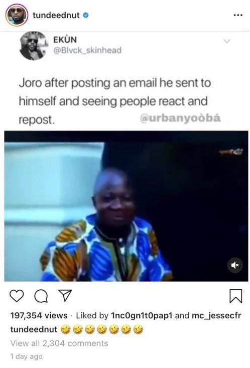 Joro Olumofin drags