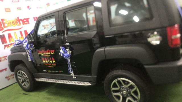 Photos of the N25 million SUV #BBNaija Mercy won!