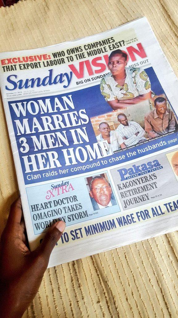 Woman marries 3 husbands