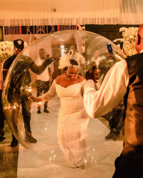 Nigerian bride goes viral
