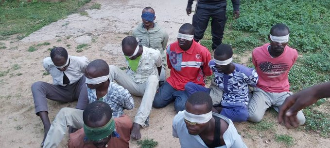Boko Haram terrorists surrender