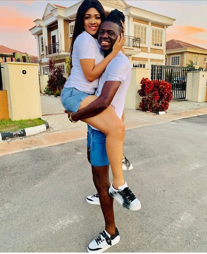 Image result for Akpororo Celebrates 4th Wedding Anniversary