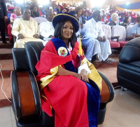Omotola Jalade-Ekeinde honoured