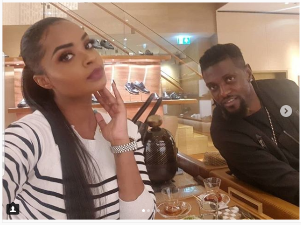 Emmanuel Adebayor confirms split