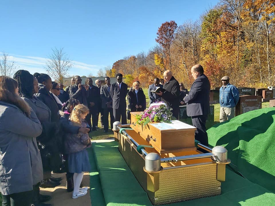 Image result for Family members of late Nigerian scholar, Pius Adesanmi, tackle his wife for burying his remains in Canada without their consent