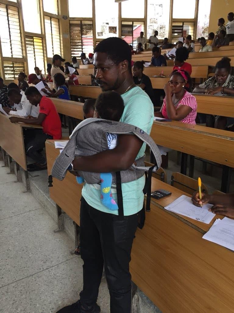 University of Calabar lecturer babysits