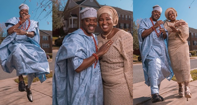 Image result for Lovely photos of a Nigerian couple doing the 'gbese'dance