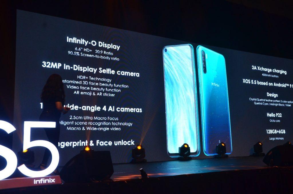 Infinix Mobility Unveils brilliant S5