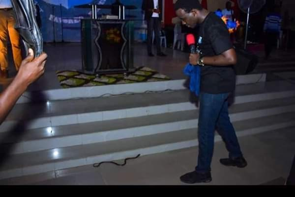 Snake reportedly Attack RCCG Pastor 1
