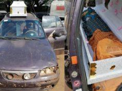 Smuggler hides 385 litres
