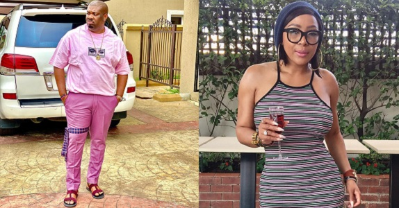 Don't belittle women - Don Jazzy tells Actress Uyanda Mbuli over comment on his 'unironed' cloth