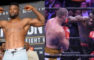 Nigerian boxer Efe Ajagba