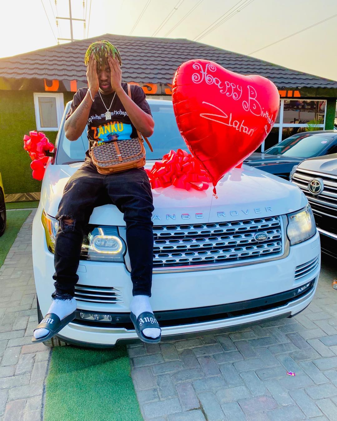 Zlatan Ibile buys Range Rover