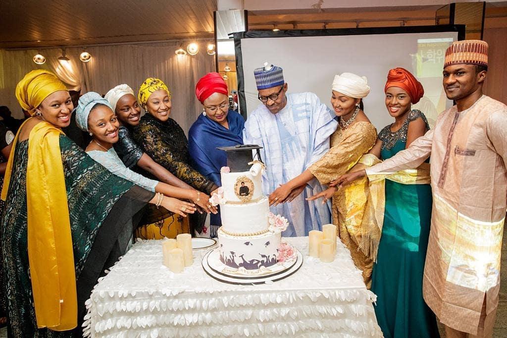 Aisha Buhari celebrates