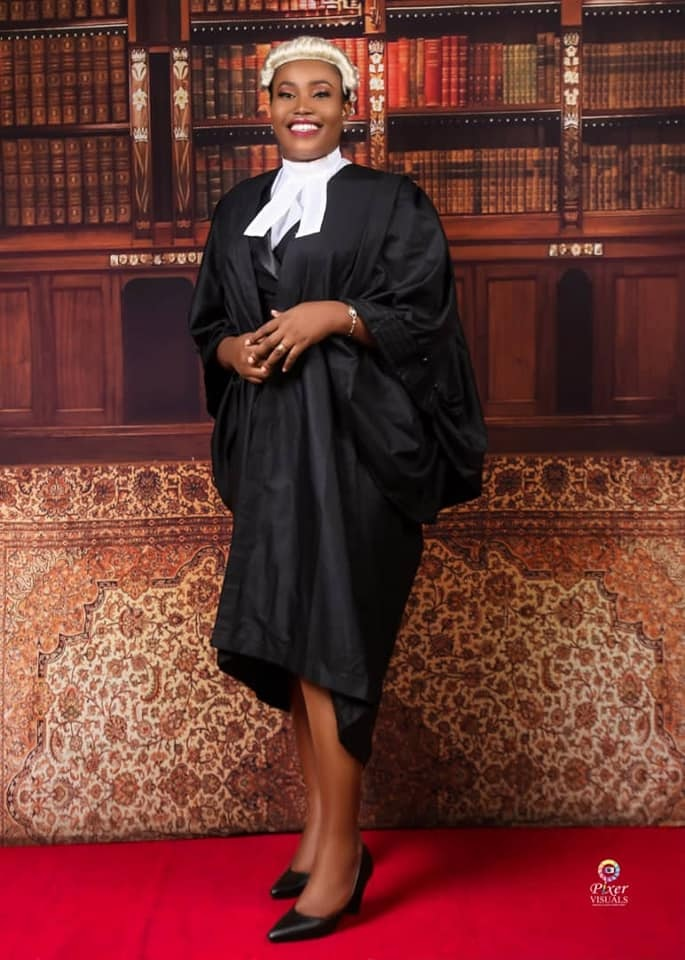 Nigerian Lady bags a First Class