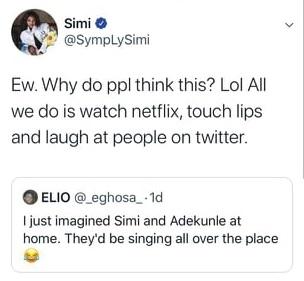 Singer Simi reveals inside secret
