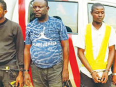 Police arrests suspects
