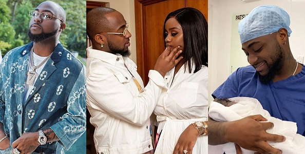 Davido reacts to tweets implying he is not Ifeanyi's father