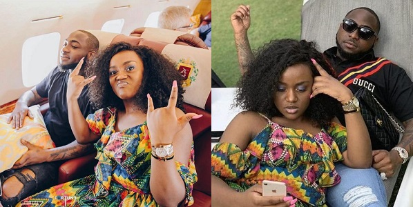 """Davido reveals he saved Chioma's name as """"Sweet in the middle"""" on his phone"""