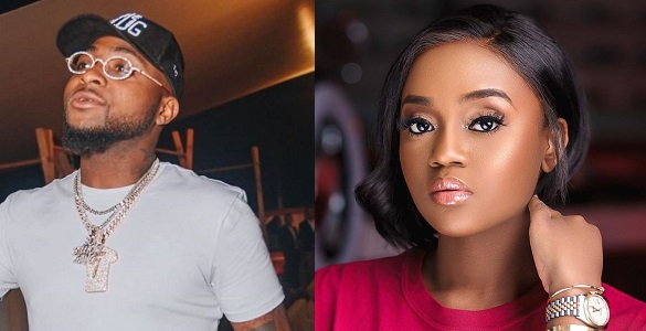 Davido and Chioma follow each other on Instagram again... and folks are thinking it may have just being a PR stunt - YabaLeftOnline
