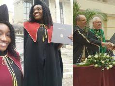 Nigeria girl graduates