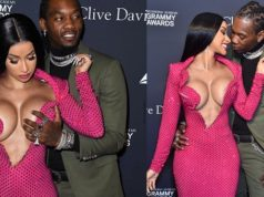 Rapper Offset helps