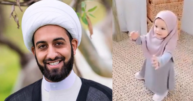 """You're sexualizing a baby girl, you are sick"" – Imam Tawhidi blasts parents who make their little kids wear hijabs."