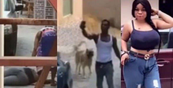 Soldier mistakenly kills the sister of lady who called him to help beat up a neighbor (Video) - YabaLeftOnline