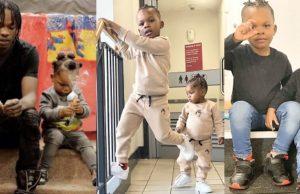 Meet Naira Marley's First Son