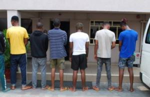 Seven arrested