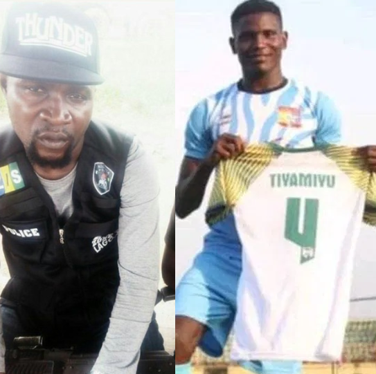 Police dismisses SARS officer involved in the death of footballer Tiamiyu Kazeem