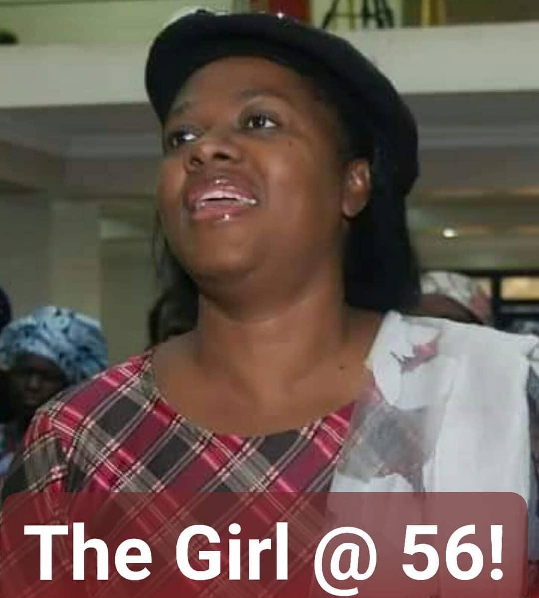 Gloria at 56