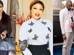Tonto Dikeh and Bobrisky snub