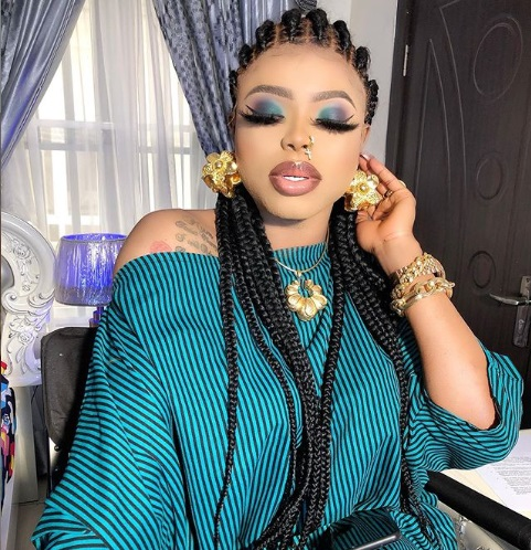 """I'm Two Weeks Gone, Congrats To Myself"" – Bobrisky says he's pregnant ?"