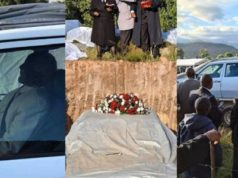 South African grandfather buried