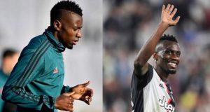 Juventus midfielder Blaise Matuidi tests