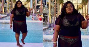 Eniola Badmus flaunts