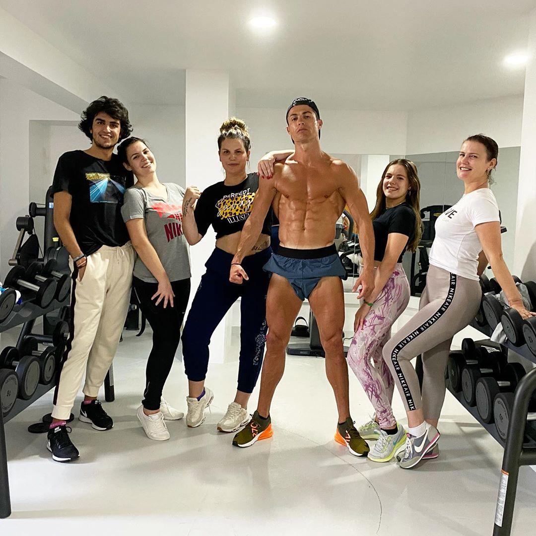 Cristiano Ronaldo pictured