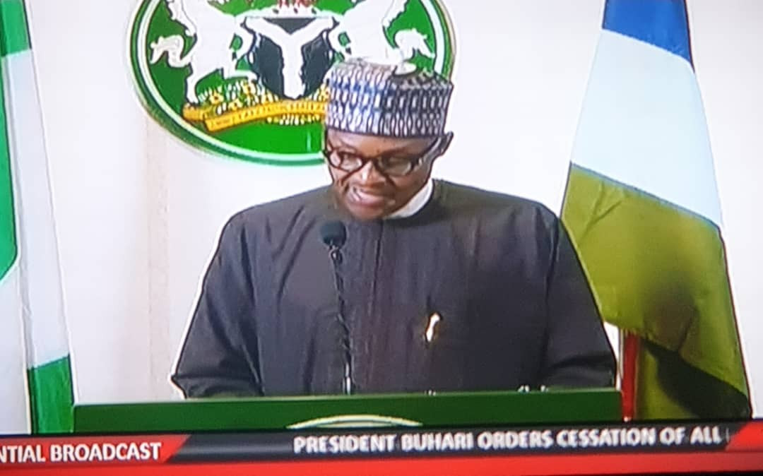 President Buhari declares curfew