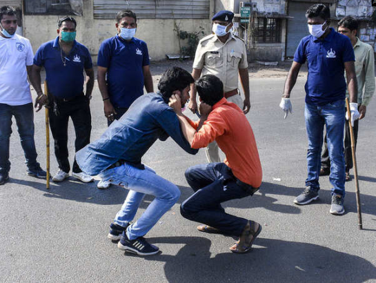 punishment India police