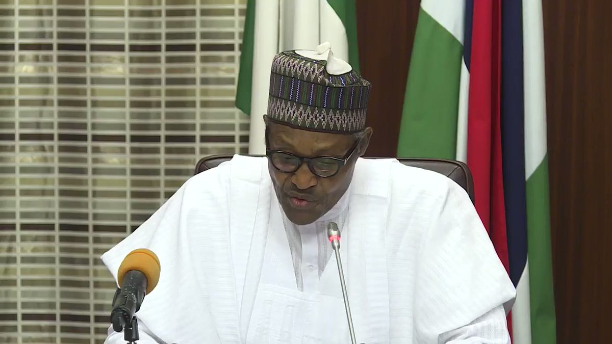 President Buhari addresses