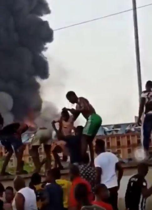 Abule Ado explosion