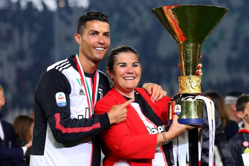 Image result for images of Cristiano Ronaldo's mother rushed to hospital after suffering stroke this morning