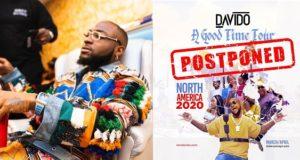 Davido postpones
