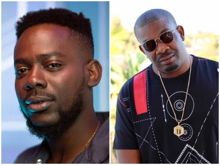 Adekunle Gold shares the DMs he sent to Don Jazzy 9 years ago begging to be a graphics artist for Mo'Hits Records