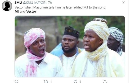 Mayorkun causes stir