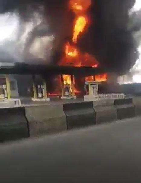 NNPC mega station fire